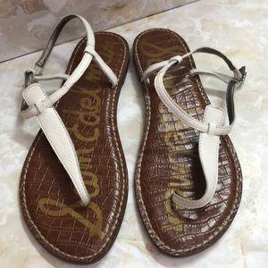Sam Edelman white sandals sz 10 gladiator
